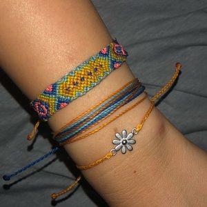 🌼spring bracelet set🌼